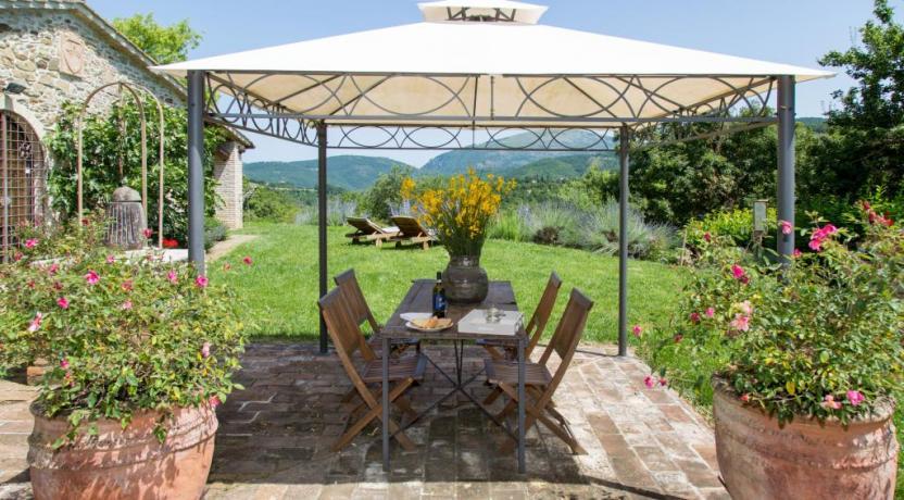 Relais con giardino vista panoramica