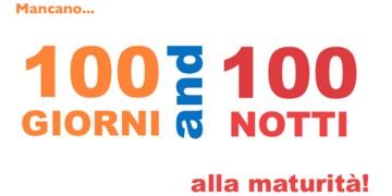 -100 GIORNI ESAMI MATURITA