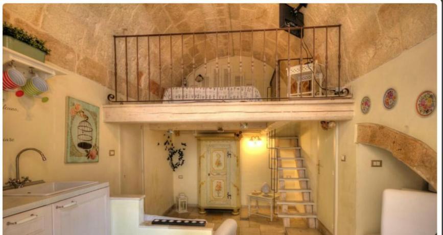 Appartamenti con cucina e salone B&B a Polignano