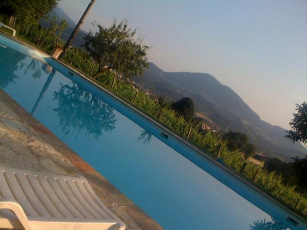 Piscina Panoramica in Agriturismo vicino Gubbio