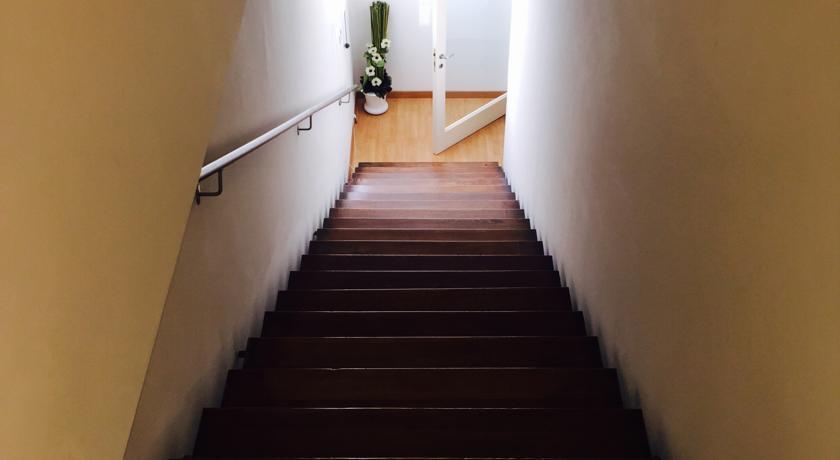 Accesso dal Ristorante alle Camere Montefalco