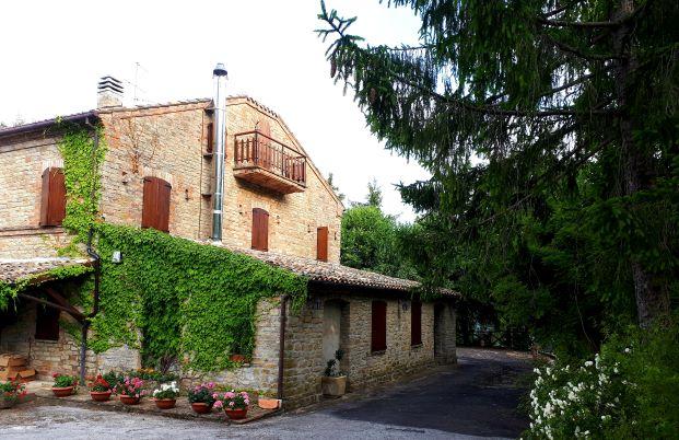 Esterno della Villa Vacanze a Montefalcone