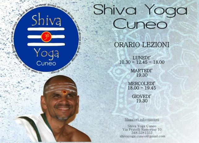 inzio corsi Shiva Yoga Cuneo