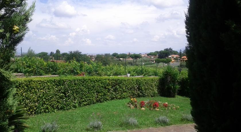 vista dalla villa di Frascati