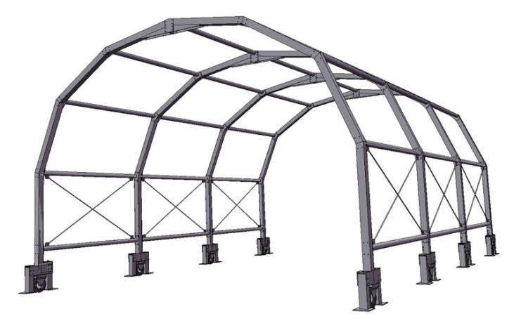copertura  tunnel mobile