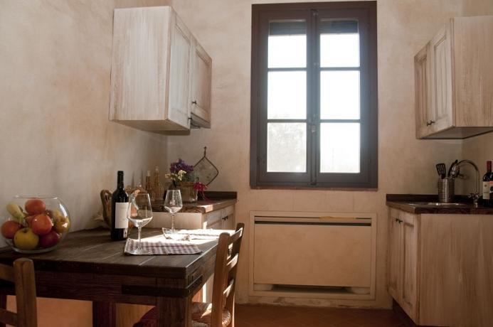 Angolo cottura, appartamento 2 persone, Toscana