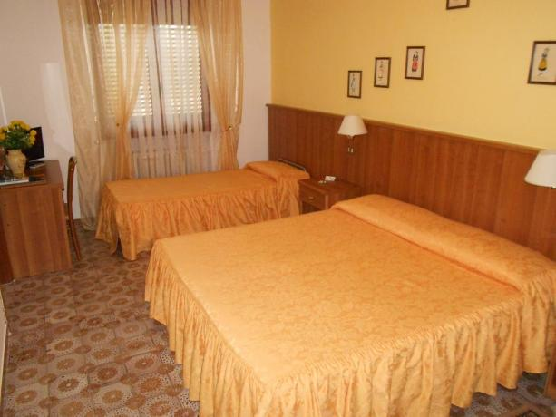 Camera tripla hotel a Chiusi