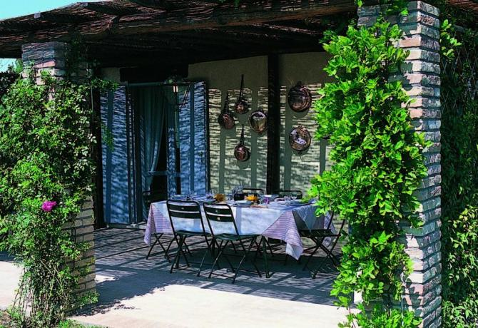 Casale con-giardino-privato e-barbecue a Narni per 12 persone
