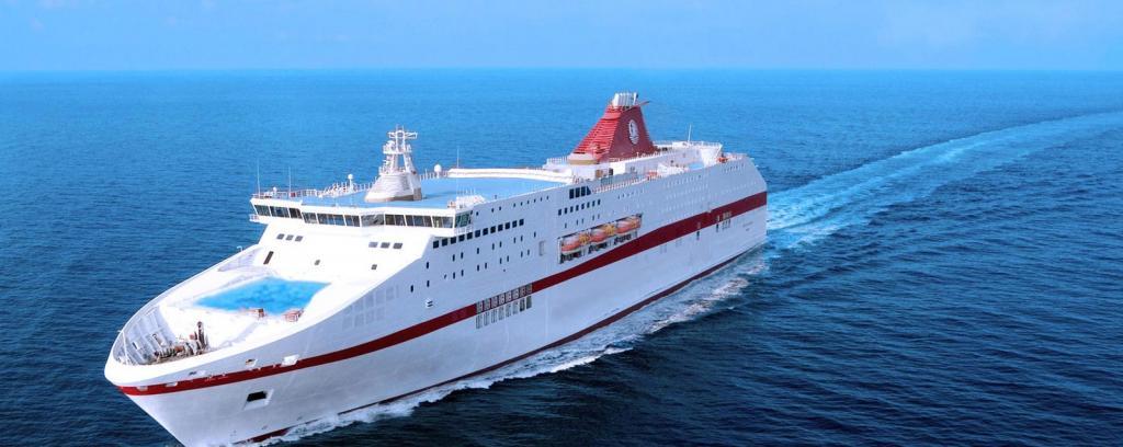 Traghetti per il Mediterraneo su navi di Lusso