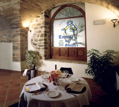 Famous restaurant with typical dishes