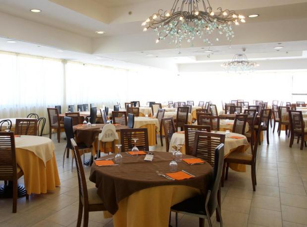 Hotel4stelle con sala ristorante climatizzata