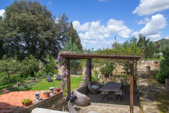 Villa di lusso nel Chianti con giardino privato