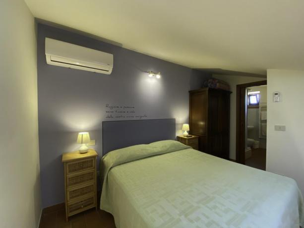 AgillaeTrasimeno- Seconda camera da letto a Paciano Umbria
