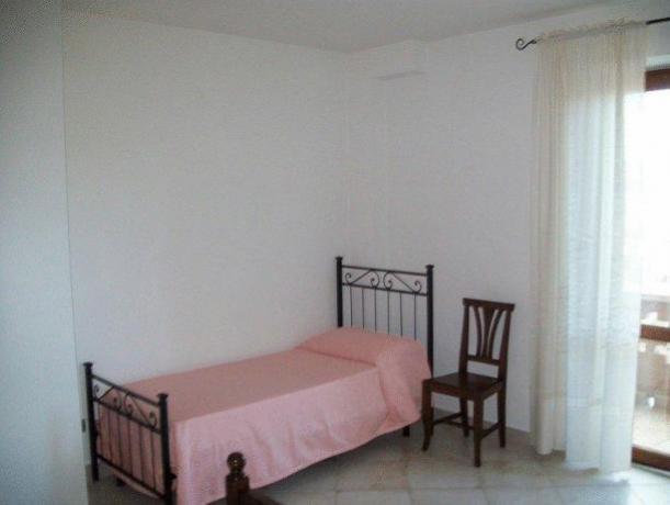 Camera da letto - Appartamento Montefalco