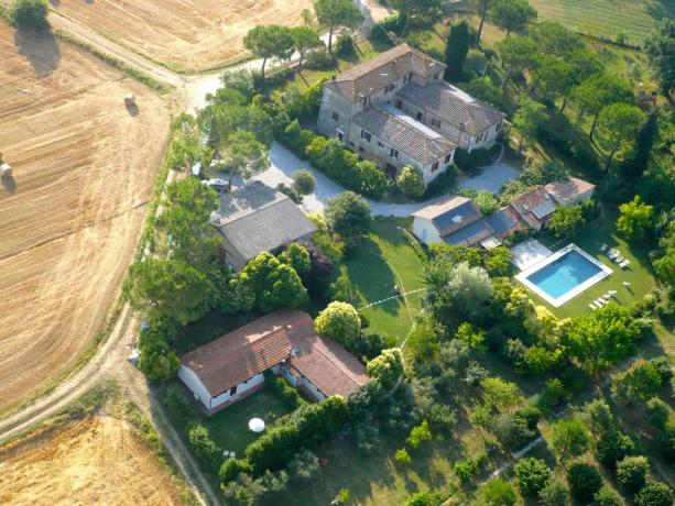 Agriturismo vicino Siena ideale per Famiglie