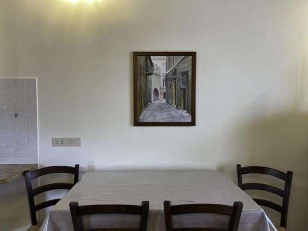 L'Etrusco- Sala da Pranzo con Angolo cottura