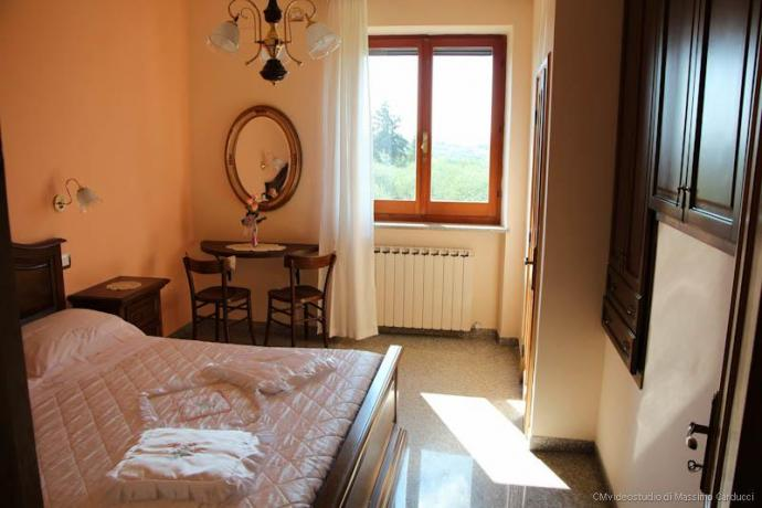 Camere per coppie prezzi bassi in Umbria