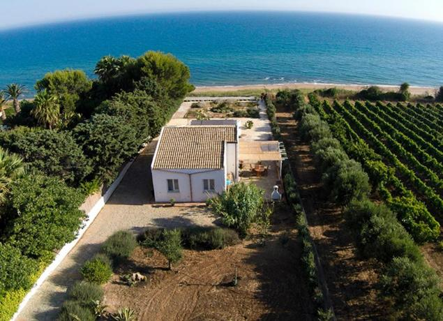 Villa con Piscina vista Mare a Selinunte