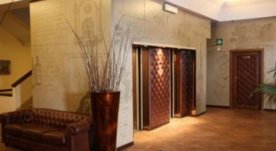 Sala Hall dell'Hotel con Centro Benessere