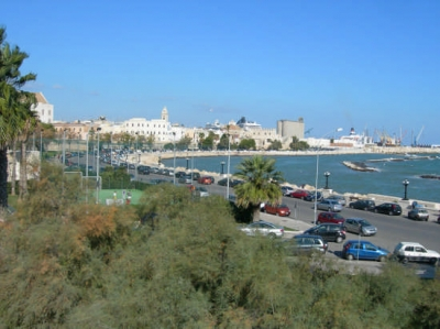 The port of Bari