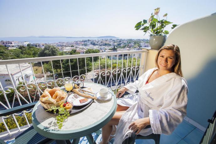 Colazione in camera con vista mare Hotel Ischia