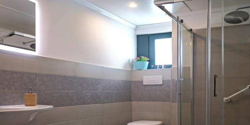 Camera con bagno in hotel 3 stelle