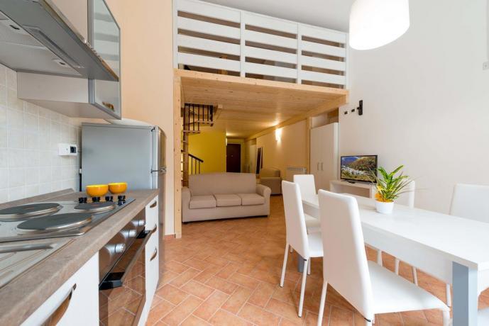 Appartamento Bilocale Pietracamela in Montagna Abruzzo
