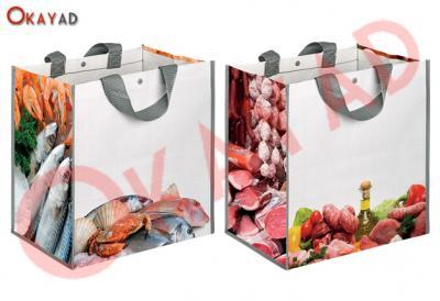 busta shopper macelleria pescheria carne pesce