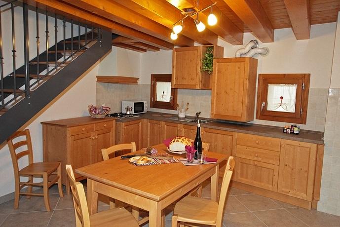 Piano cottura in Appartamento Friuli