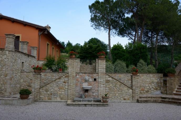 Appartamenti in Umbria con ampio spazio esterno