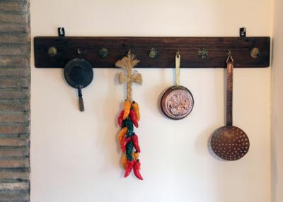 Appartamento Moraiolo particolare della cucina