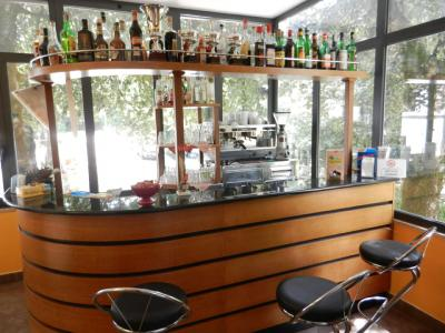 Bar dell'hotel a Spoleto