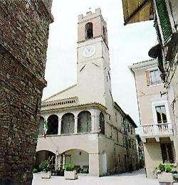 Cannara medieval centre