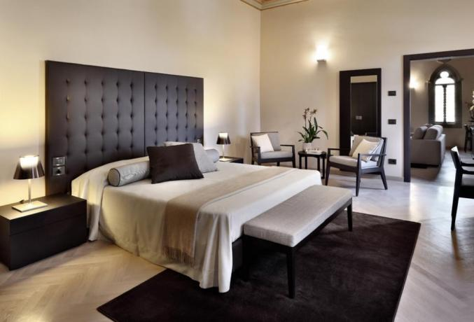 Suite con living room resort 5 stelle Umbria