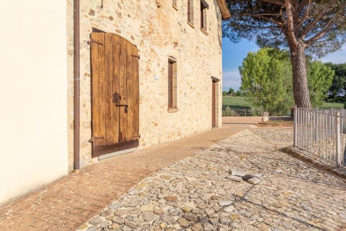Agriturismo in Umbria con Solarium e Idromassaggio