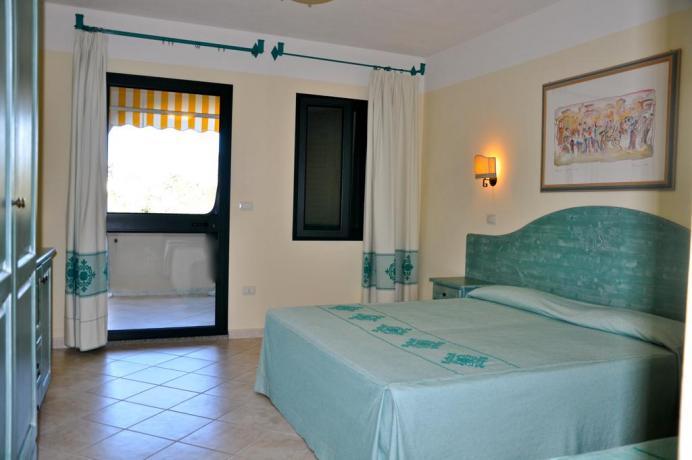 camera matrimoniale Residence La Marina CALA-LIBEROTTO