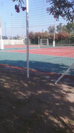 Appartamenti a Scalea con Campi da Tennis