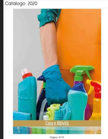 Imperya Catalogo: Linea Detergenti-Casa Detergenti-Professionali