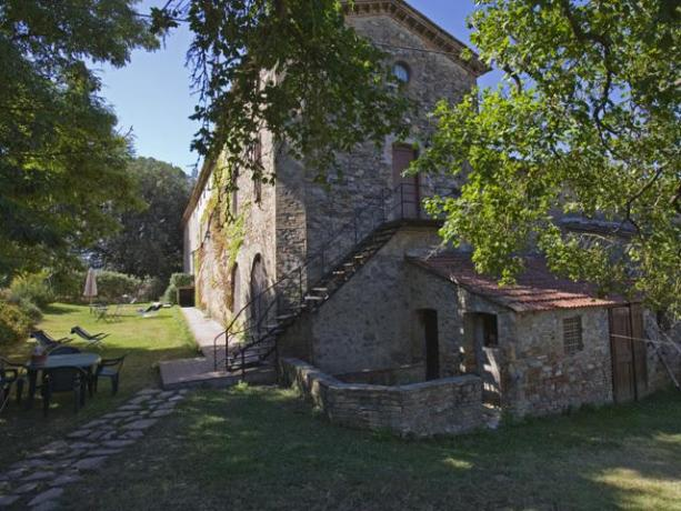 Appartamenti con giardino comune a Umbertide