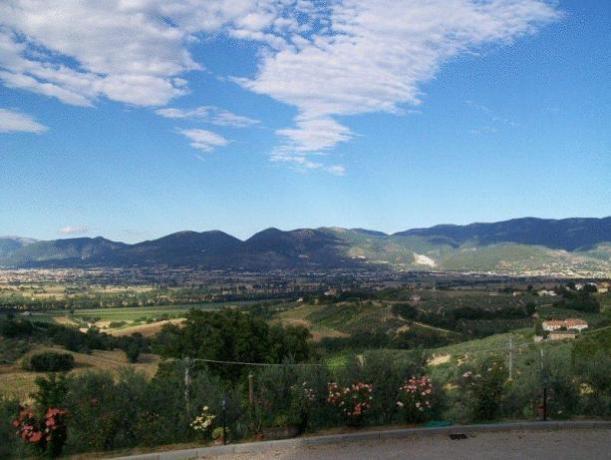 Appartamento Montefalco con vista panoramica