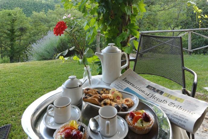 Villa in Umbria con colazione all'aperto