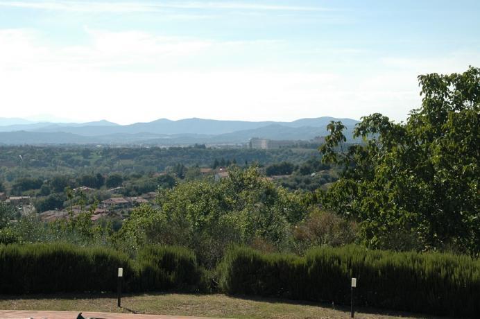 Perugia: villa con vista Panoramica 8 persone
