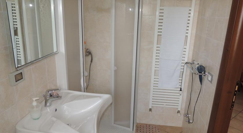 bagno privato in tutte le camere