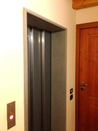 possibilità di utilizzare ascensore in B&B