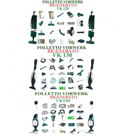 Folletto Vorwerk:  Vk120 Vk130 Vk 140