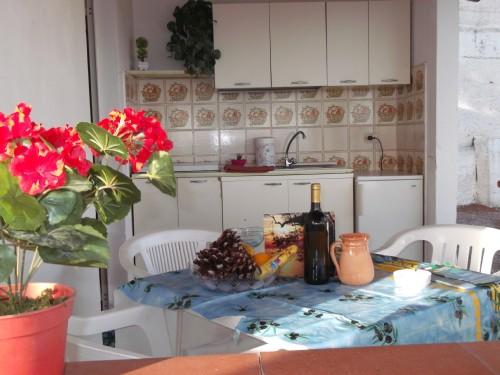 Ingresso bungalow in Villaggio a Palinuro