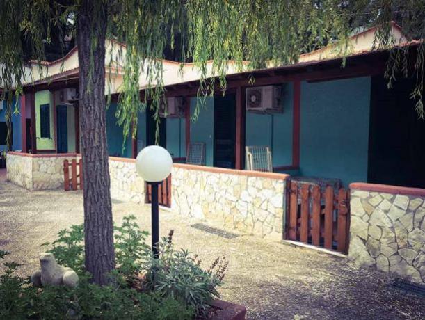 appartamenti con ampio spazio verde
