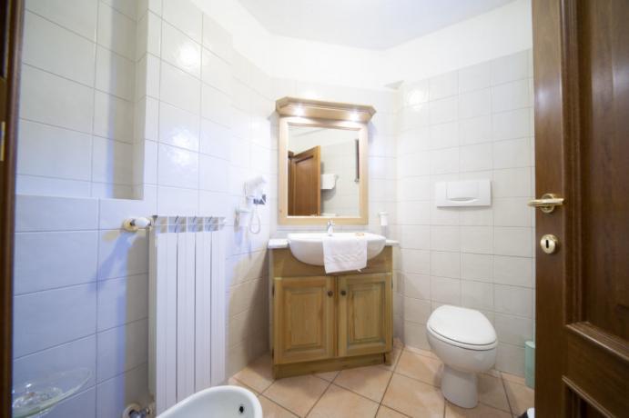 Bagno privato appartamento-vacanza 5posti-letto Bardonecchia