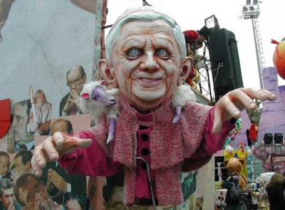 Tha wagon of the Pope Ratzinger