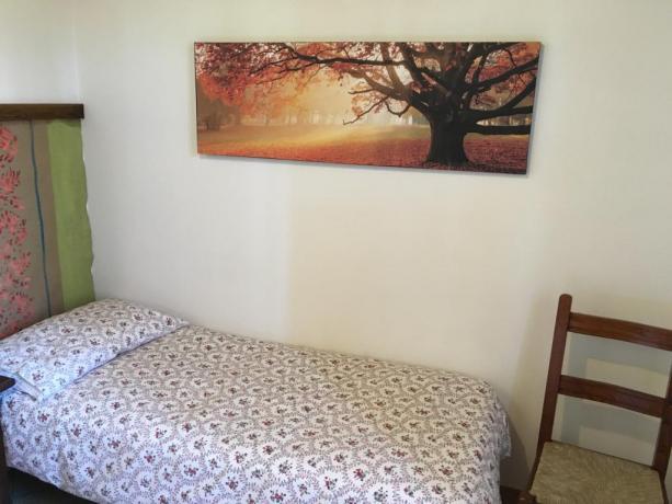 Camera con letto singolo vicino Perugia